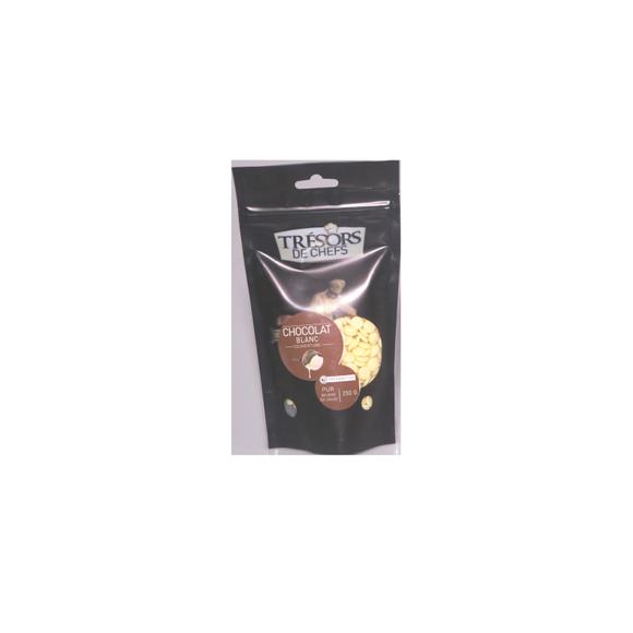 compra en línea Chocolate blanco de cobertura botones Tresor Des Chefs (250 gr)