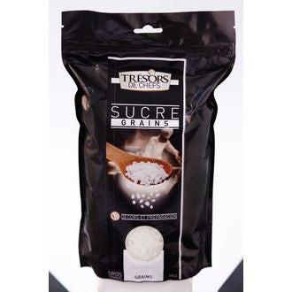 TRESORS DE CHEFS - Sucre à gros grains en sachet 1kg