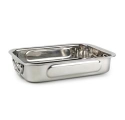compra en línea Rustidera para horno de acero inoxidable (30 x 22 x 5 cm)