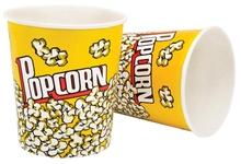 Achat en ligne Lot de 2 gobelets à popcorn en papier XL 3,8L
