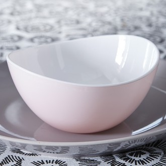 ZODIO - Coupelle en plastique blush D14cm