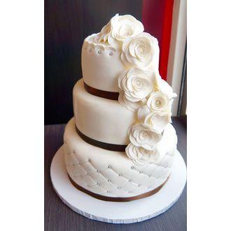 PATISDECOR - Pâte à sucre blanc aromatisée vanille 500g