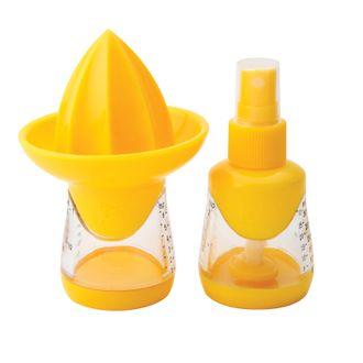 Presse citron vaporisateur jaune