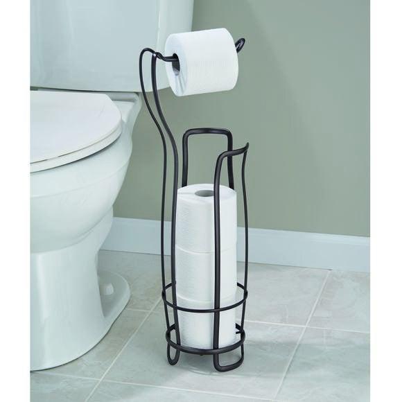 Valet WC dérouler et stock 3 rouleaux
