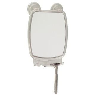 INTERDESIGN - Miroir réctangulaire à suspendre en plastique transparent