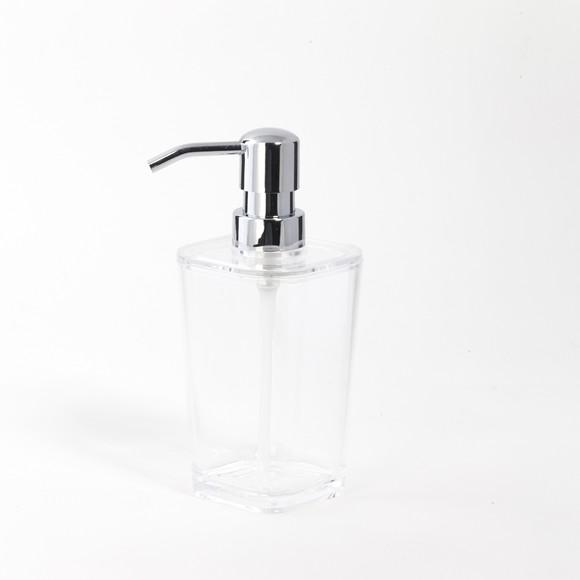 Distributore di sapone acrilico trasparente Kristal