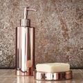 Distributeur de savon en metal et cuivre Copper