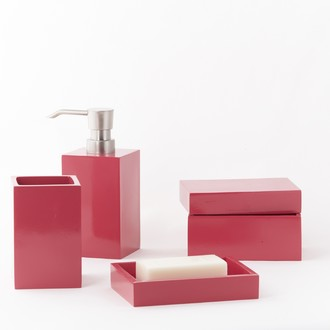 Pot à coton rose sorbet Kare