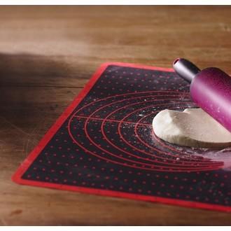 TRUDEAU - Tapis à patisserie en silicone 33x49,5cm