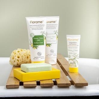 Florame - crème pour les mains bio à la verveine et citron - 50ml