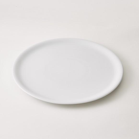 Piatto per pizza in porcellana bianca, diametro 30,5cm