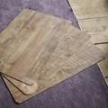 Tovaglietta americana rettangolare effetto legno, 30x45 cm