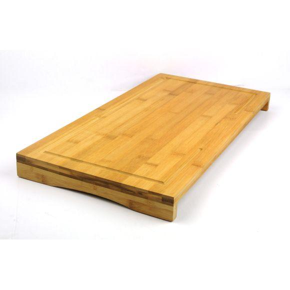 Tagliere da cucina in bambù, 54x28x4cm