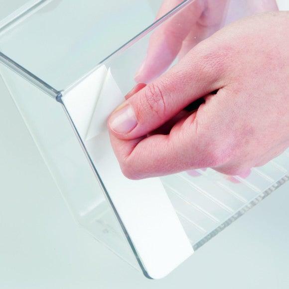 Contenitore per cucina in acrilico adesivo 8x15x13cm