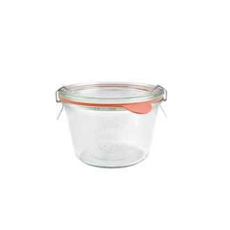 4 verrines en verre à couvercle Weck 370ml