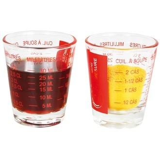 Mini verre mesureur 5-35mL