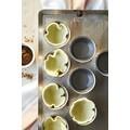 Set di 4 stampi pasteis di nata in acciaio inox