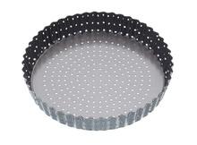 Achat en ligne Moule à tarte perforé en acier antiadhésif 25cm Crousty