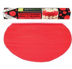 acquista online Pasta da zucchero rosso da srotolare gusto vaniglia 36cmx4mm