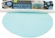 Achat en ligne Pâte à sucre bleu à dérouler aromatisée vanille 36cmx4mm 430g
