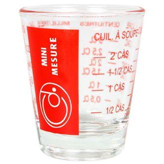 Display de 12 mini verres mesureurs de 5 à 35mL