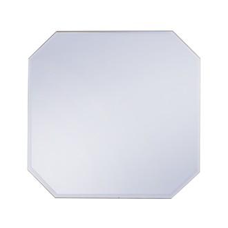 Miroir bleu Classy 30x30cm