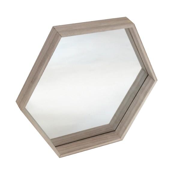 Achat en ligne Miroir héxagonal DIY 36x30cm