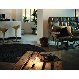 Lampe tarbes cuivre E27 60W