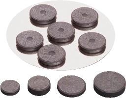 Achat en ligne Set de 12 aimants extra fort noir 19mm