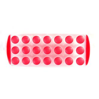 Bac pour 21 glaçons rouge