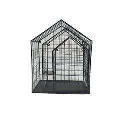 Achat en ligne Set de 3 étagères en filaires noires Maison 28 à 36cm
