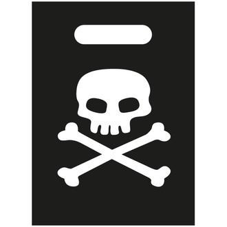 Set de 8 pochettes à cadeaux pirates 16,5x23cm