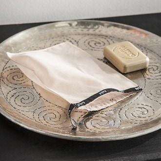 TADE - Gant de toilette en soie naturelle