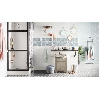 INTERDESIGN - Poubelle de salle de bain ouverte en inox brossé