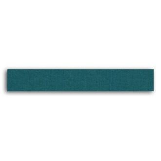 TOGA - Rouleau de tissu adhésif thermocollant bleu - largeur 1,5cm, longueur - 5 m