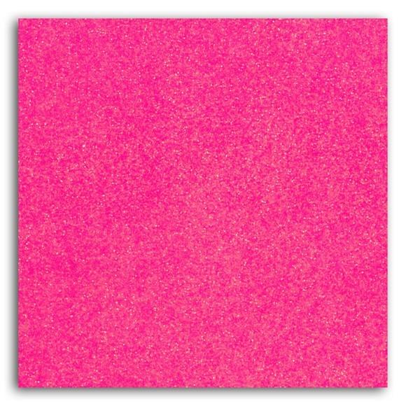 Achat en ligne Feuille thermocollante pailletée rose fluo format A4