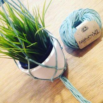 Pelote de laine pure coton ficelle natura 100g