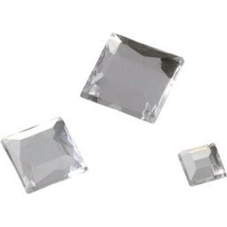 Set de 110 pierres carrées en cristal