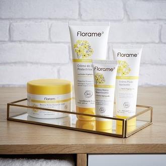 FLORAME - Crème pour les mains bio répare et nutrition - 50ml