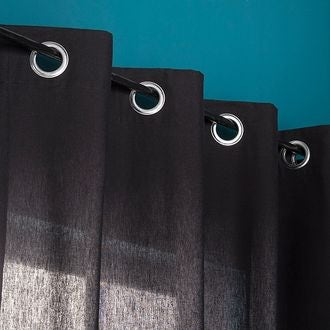 Rideau noir louise 140x260cm