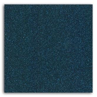 TOGA - Feuille thermocollante pailletée bleu nuit format A4
