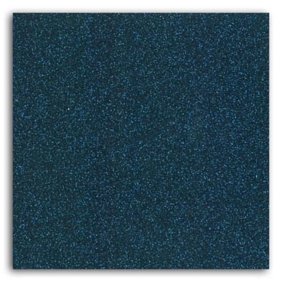 Achat en ligne Feuille thermocollante pailletée bleu nuit format A4