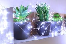 Achat en ligne Guirlande lumineuse 150 micro LED blanc froid 7.50m