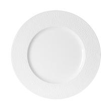 Achat en ligne Assiette plate Louna blanche relief 27cm