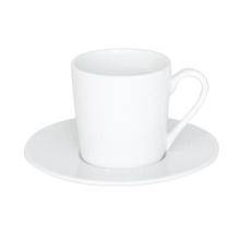 Achat en ligne Petite tasse à café Louna blanche relief 12cl