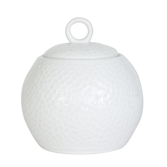 Achat en ligne Sucrier à relief blanc Louna 30cl