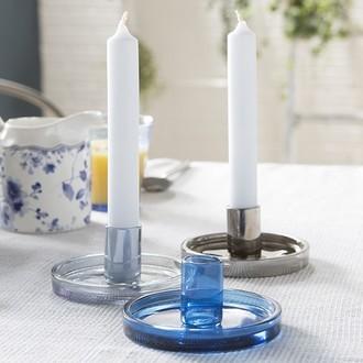 Zodio - 4 bougies droites ciel 18cm
