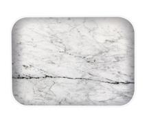 Achat en ligne Plateau mélamine marbre blanc Osmose 28x20cm
