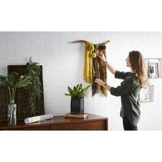 Pelote de laine charly jaune colza 50g