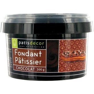 PATISDECOR - Fondant patissier chocolat 300g